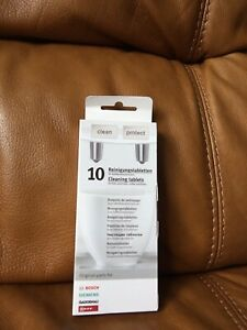 Bosch Siemens Gaggenau Neff Cleaning Tablets 4 Coffee Machines and Thermoflasks