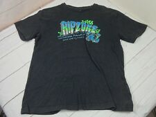 Ripzone Boys Black w/Green & Blue Graphic Size XL 100% Cotton T-Shirt  A2090