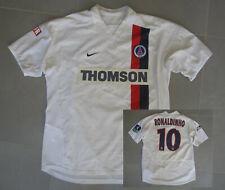 Maillot PSG Paris Saint Germain Thomson Nike Porté Ronaldinho 2003 taille L