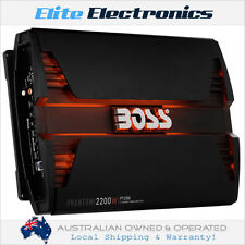 BOSS AUDIO PT2200 PHANTOM SERIES 2 CHANNEL 2200W RMS CLASS AB CAR MPLIFIER AMP