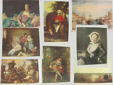 Lot of 8 Vintage 1937 Prints National Committee of Art Appreciation '30s