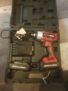 """Clarke CIR18LIC 1/2"""" Drive 18V 450Nm Brushless Impact Wrench with 2x 2Ah Battery"""