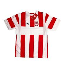 More details for deadstock olympiacos puma football jersey 06-07 mens small new with tags