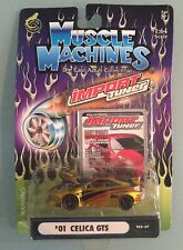 MUSCLE MACHINES TUNER '01 CELICA GTS T03-37 1:64 Scale
