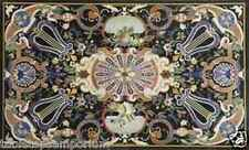 4'x2' Marble Dining Table Top Marquetry Work Art Mosaic Inlay Scagliola Arts