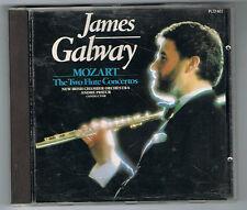 MOZART - THE TWO FLUTES CONCERTOS - JAMES GALWAY - CD EN TRÈS BON ÉTAT