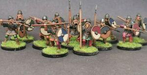 12 X Painted Viking Herdmen Saga Swordpoint Gripping Beast