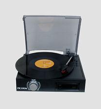 PRIXTON - Tocadiscos Convertidor y Reproductor de Cassette a MP3