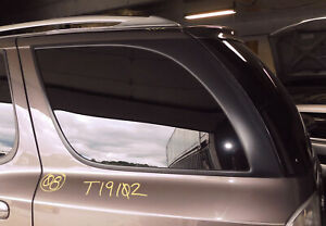 2005-2009 Saab 9-7X  Driver Left Rear Quarter Panel Glass W/Warranty Genuine OEM