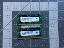 New listing 16Gb Corsair Mac 8Gbx2 Ddr3-1333 Cmsa16Gx3M2A1333C9 Laptop Ram 204p So-Dimm