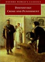 Crime and Punishment (Oxford World's Classics) By Fyodor Dostoyevsky,Jessie Cou