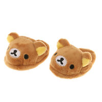 1/3 Brown Bear Design Slippers for SD DZ DOD BJD Dollfie Dolls Accessory