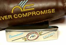 Never Compromise Connoisseur Forged Limited 303 Culebra Putter + Head Cover