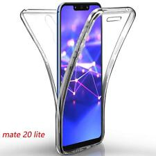 Pour Huawei Mate 20 lite  Coque Gel 360 avant+Arrière Protection INTEGRAL