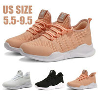 Women's Breathable Sneakers Casual Sports Lightweight Running Tennis Shoes Gym