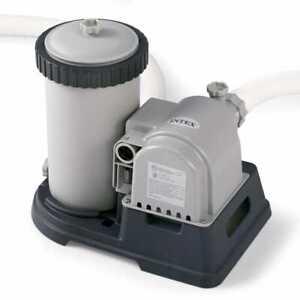 Intex Pompa Filtrante a Cartuccia 9463 L/ora Pulizia Acqua Piscina Fuoriterra
