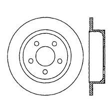 Centric Parts 120.67063 Rear Premium Brake Rotor