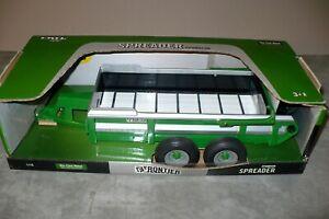 FRONTIER (John Deere) Toy SPREADER Ertl 1/16 NIB Tractor Implement