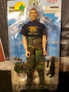 "THE ULTIMATE SOLDIER 11"" US NAVY SEAL TEAM ACTION FIGURE 70050"