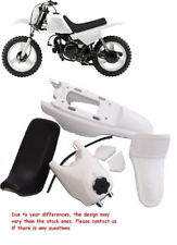 For YAMAHA PW50 YZinger PLASTIC FENDER SEAT GAS TANK KIT WHITE H PS39