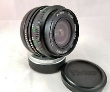 Vivitar 28mm f/2.8 MC Close Focusing Wide Angle Lens for Canon FD mount