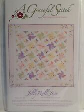 JELLY ROLL JIVE QUILTING PATTERN, From A Graceful Stitch NEW