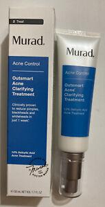 Murad Outsmart Acne Clarifying Treatment Full Size 1.7 oz 50 mL  Exp 11/2020