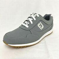 FootJoy Women's Sport Retro Golf Shoes Grey 92385 Ladies (Size 10M) Spikeless