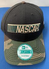 New Era NASCAR Camo Baseball Adjustable Cap Hat The League - NWOT