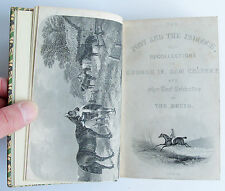1857 THE POST AND THE PADDOCK Druid Warne horse racing breeding hunting REBOUND