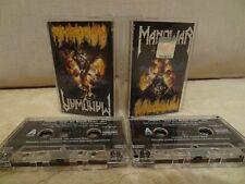 MANOWAR HELL ON STAGE LIVE / 1999 / 2x MC'S, CASSETTEN