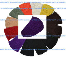 Wholesale Lot 12 HEADWEAR Flower Crochet Knit Headwrap Headband Ear Warmer HAIR