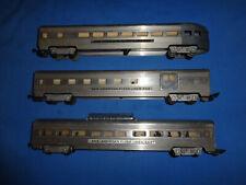 American Flyer #660, #662 & #663 Aluminum Passenger Car's