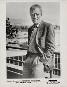 Max von Sydow ~ ORIGINAL 1987 portrait ~ Pelle the Conqueror