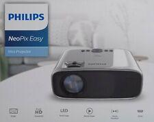 "Philips NEOPIX EASY Projektor 2600 LED Lumen 800x480 bis zu 80"" 200cm HDMI VGA"