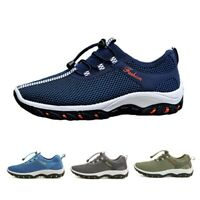 Men Sports Shoes Breathable Hollow Out Loafers Cycling Trainning Tennis Sneakers