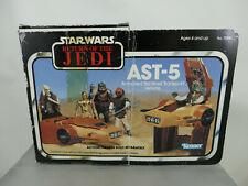 STAR WARS VINTAGE ARMORED SENTINEL TRANSPORT AST-5 1983 BOX + CARDBOARD INSERT