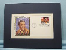 Saluting Clyde McPhatter and the First day Cover of his own stamp