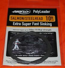 Airflo Polyleader Salmon / Steelhead NEW ~ 10' Extra Super Fast Sinking