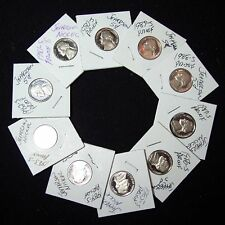 1980-S -1989-S Decade of Proof Nickels!  Cameo Lot!!!!!
