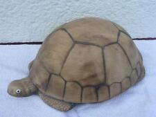 Gartendeko Schildkröte in Handarbeit aus Keramik hergestellt Dekor braun