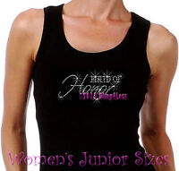 Maid of Honor Rhinestone Iron on Tank Top - Pick Size S-3XL - Bridal Bride Shirt