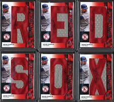 Kevin Youkilis 2008 SP Authentic By The Letter Patch 12 Autographed Cards