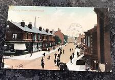 Edwardian Postcard Of Trinity Street Gainsborough