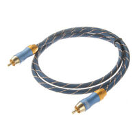 1/2/3/5/8/10M Digital Audio Coaxial Cable Extension RCA For CCTV MATV RF Monitor