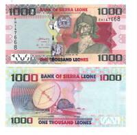 UNC SIERRA LEONE 1000 Leones (2013) P-30