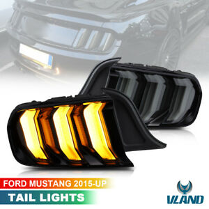 For Ford Mustang GT 2015-2021 Five Model Full LED Taillights W/Sequential Signal