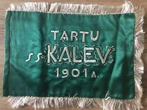 pennant Tartu Kalev  soccer Football about 1930