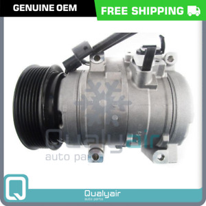 Genuine OEM AC Compressor w/ Clutch fits Mitsubishi Pajero / Montero / Shogun RQ