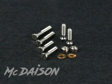 McDAISON - Kit 6 viti e 2 bulloni amagnetici per le testine giradischi puntine
